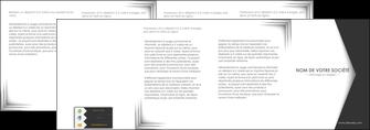 cree depliant 4 volets  8 pages  texture contexture structure MLIG28746