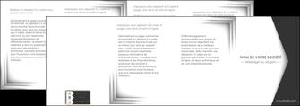 creer modele en ligne depliant 4 volets  8 pages  texture contexture structure MIF28748
