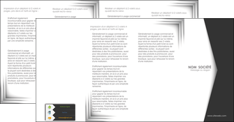 realiser depliant 4 volets  8 pages  texture contexture structure MIF28752