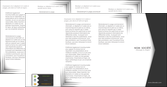 realiser depliant 4 volets  8 pages  texture contexture structure MLGI28752