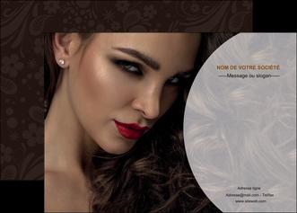 personnaliser maquette affiche cosmetique beaute bien etre coiffure MLGI28812