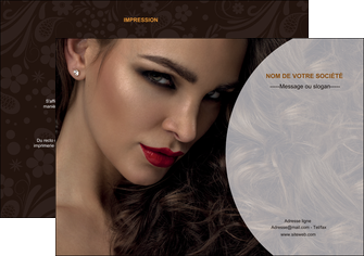 personnaliser modele de flyers cosmetique beaute bien etre coiffure MLGI28816