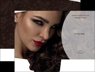 creation graphique en ligne pochette a rabat cosmetique beaute bien etre coiffure MLGI28824