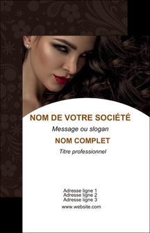 maquette en ligne a personnaliser carte de visite cosmetique beaute bien etre coiffure MLGI28826