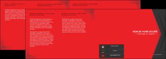 imprimer depliant 4 volets  8 pages  texture structure courbes MIF28842