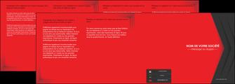 creer modele en ligne depliant 4 volets  8 pages  texture structure courbes MIF28844