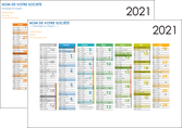 personnaliser modele de affiche en ligne a personnaliser calendrier 2019  bancaire a2 recto et verso 6 mois par page calendrier de bureau MLGI28872