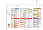 cree flyers calendrier bancaire 2020 calendrier de bureau 12 mois MLGI28880