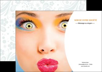 creer modele en ligne affiche centre esthetique  beaute bien etre coiffure MLIP29028