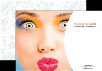 personnaliser maquette affiche centre esthetique  beaute bien etre coiffure MLIP29030