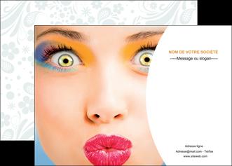 personnaliser modele de affiche centre esthetique  beaute bien etre coiffure MLIP29032
