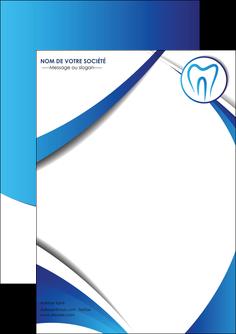faire modele a imprimer flyers dentiste dents dentiste dentier MLGI29102