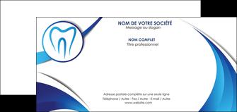personnaliser maquette carte de correspondance dentiste dents dentiste dentier MLGI29120