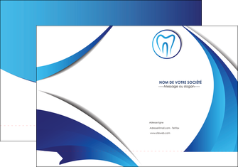 faire modele a imprimer pochette a rabat dentiste dents dentiste dentier MLGI29128