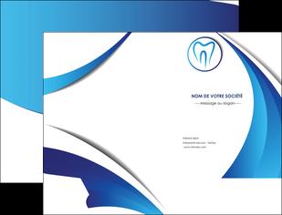 realiser pochette a rabat dentiste dents dentiste dentier MLGI29130