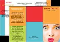 creation graphique en ligne depliant 3 volets  6 pages  cosmetique beaute bien etre coiffure MLGI29316