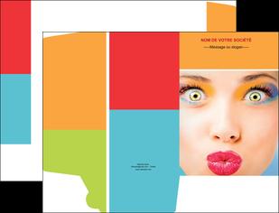 faire modele a imprimer pochette a rabat cosmetique beaute bien etre coiffure MLGI29336