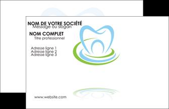 Exemple Carte De Visite Dentiste Dents Dentisterie MLGI29346