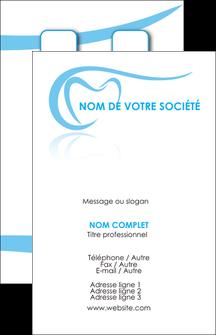 Creer Modele En Ligne Carte De Visite Dentiste Dents Dentisterie MLGI29454