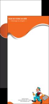 modele flyers plomberie travail travailleur casquette MIS29576