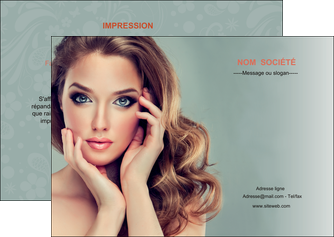 personnaliser modele de flyers centre esthetique  beaute bien etre coiffure MLGI29600