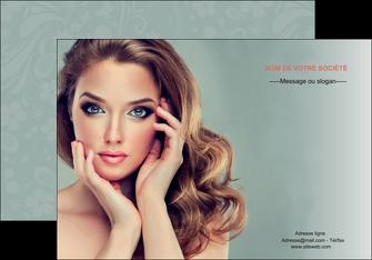 creation graphique en ligne affiche centre esthetique  beaute bien etre coiffure MLGI29604