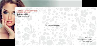impression carte de correspondance centre esthetique  beaute bien etre coiffure MLGI29606