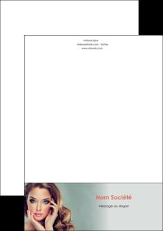 creation graphique en ligne tete de lettre centre esthetique  beaute bien etre coiffure MLGI29622