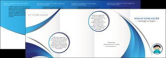 modele depliant 4 volets  8 pages  infirmier infirmiere medecin medecine sante MIF29634