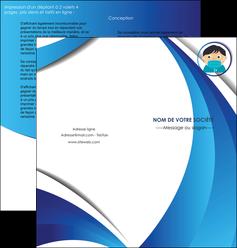 modele en ligne depliant 2 volets  4 pages  infirmier infirmiere medecin medecine sante MIF29640