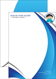 modele en ligne flyers infirmier infirmiere medecin medecine sante MIF29648