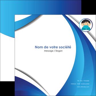 creer modele en ligne flyers infirmier infirmiere medecin medecine sante MIF29654