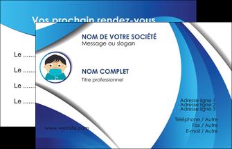 realiser carte de visite infirmier infirmiere medecin medecine sante MIF29662