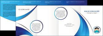 personnaliser modele de depliant 4 volets  8 pages  infirmier infirmiere medecin medecine docteur MLGI29716
