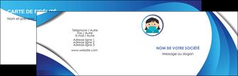 creation graphique en ligne carte de visite infirmier infirmiere medecin medecine docteur MLGI29722