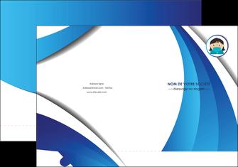 creer modele en ligne pochette a rabat infirmier infirmiere medecin medecine docteur MLGI29738