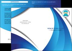 modele en ligne depliant 2 volets  4 pages  infirmier infirmiere medecin medecine docteur MLGI29834