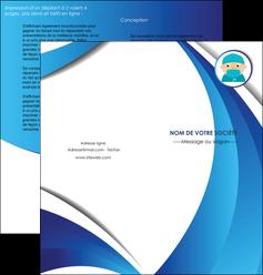 modele en ligne depliant 2 volets  4 pages  infirmier infirmiere medecin medecine docteur MLGI29836