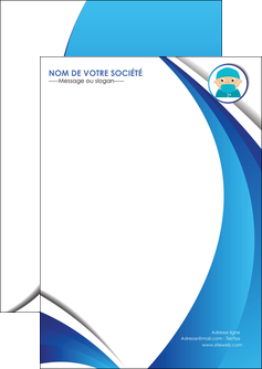 modele flyers infirmier infirmiere medecin medecine docteur MLGI29844