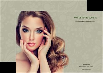 maquette en ligne a personnaliser affiche centre esthetique  beaute bien etre coiffure MLGI29866