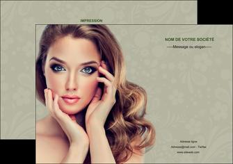 personnaliser maquette flyers centre esthetique  beaute bien etre coiffure MLGI29874