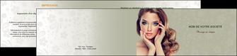 creation graphique en ligne depliant 2 volets  4 pages  centre esthetique  beaute bien etre coiffure MLGI29878