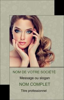 imprimerie carte de visite centre esthetique  beaute bien etre coiffure MLGI29884