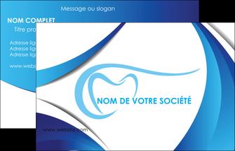 Creation Graphique En Ligne Carte De Visite Dentiste Dents Dentisterie MLGI29930