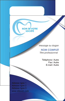 Personnaliser Modele De Carte Visite Dentiste Dents Dentisterie MLGI29932