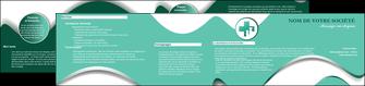 personnaliser modele de depliant 2 volets  4 pages  animal chien chiot chat MLGI29978