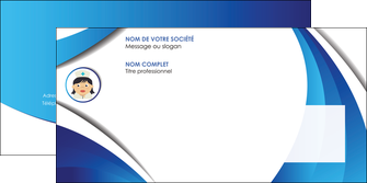 modele enveloppe infirmier infirmiere medecin medecine docteur MIF30010