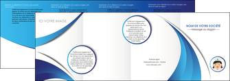 exemple depliant 4 volets  8 pages  infirmier infirmiere medecin medecine docteur MIF30014