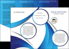 imprimer depliant 3 volets  6 pages  infirmier infirmiere medecin medecine docteur MIF30026