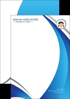 imprimer flyers infirmier infirmiere medecin medecine docteur MIF30028